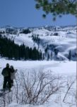 Castle Lake, meditation, vortex, backcountry skiing, snowshoeing